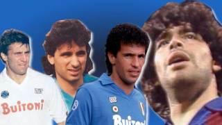 Careca, Maradona, Giordano e Carnevale: i bomber del Napoli '80 '90