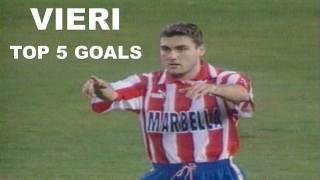 Christian Vieri | Top 5 goals con l'Atletico Madrid