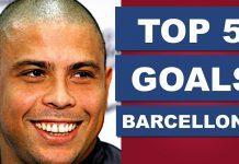 RONALDO IL FENOMENO: Top 5 Goals del Fenomeno con il Barcellona