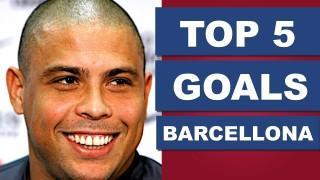 Ronaldo il Fenomeno, TOP 5 gol con il Barcellona