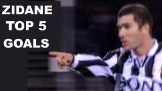 Zinedine Zidane | Top 5 goals con la Juventus