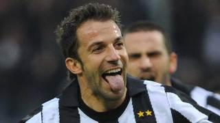 Del Piero, gol da bordo campo
