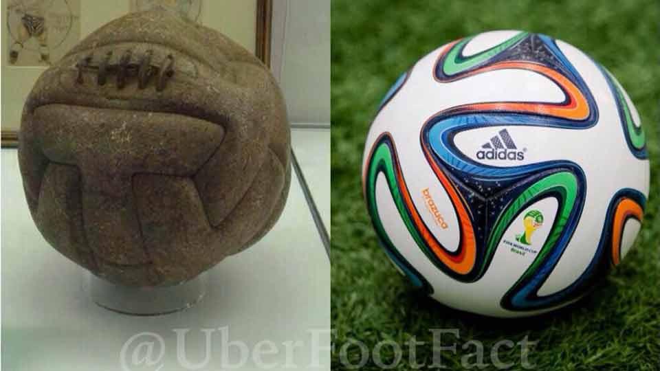 primo pallone dei mondiali di calcio