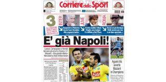 Corriere dello Sport pronostici campionato