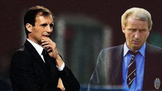 Juve-Verona, la prima vittoria del Trap