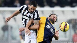 Juventus-Verona 4-0, una vecchia storia