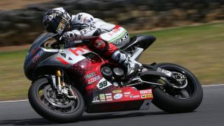 Phillip Island Superbike test: Niccolò Canepa 10°