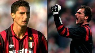 Due leggende del Milan: Rossi e Massaro