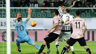 Palermo-Juve 0-3, i bianconeri si avvicinano
