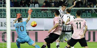 Mandzukic gol Palermo-Juve 0-3