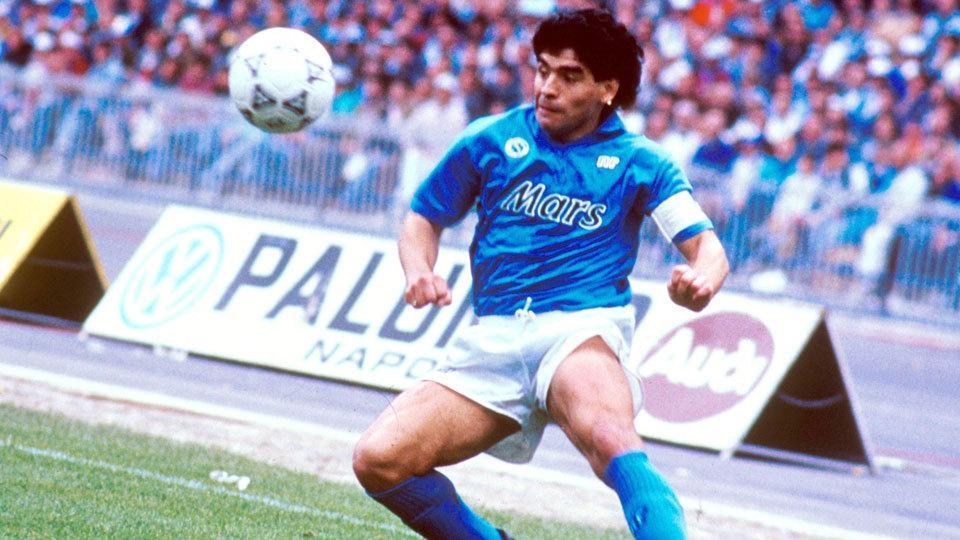 I gol più belli di Maradona con il Napoli