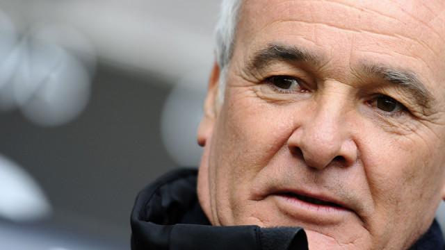 Claudio Ranieri al top in Premiere League
